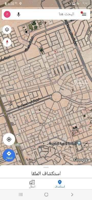1813202 ارض للبيع بحى حطين النموذجي   الاطوال ٣٠ ×٤١  الأرض على السوم   مباشر