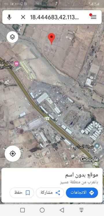 1660575 قطعتين بجانب بعض  على ٣ شوارع حي البواطن كل قطعه ٤٠٠ متر
