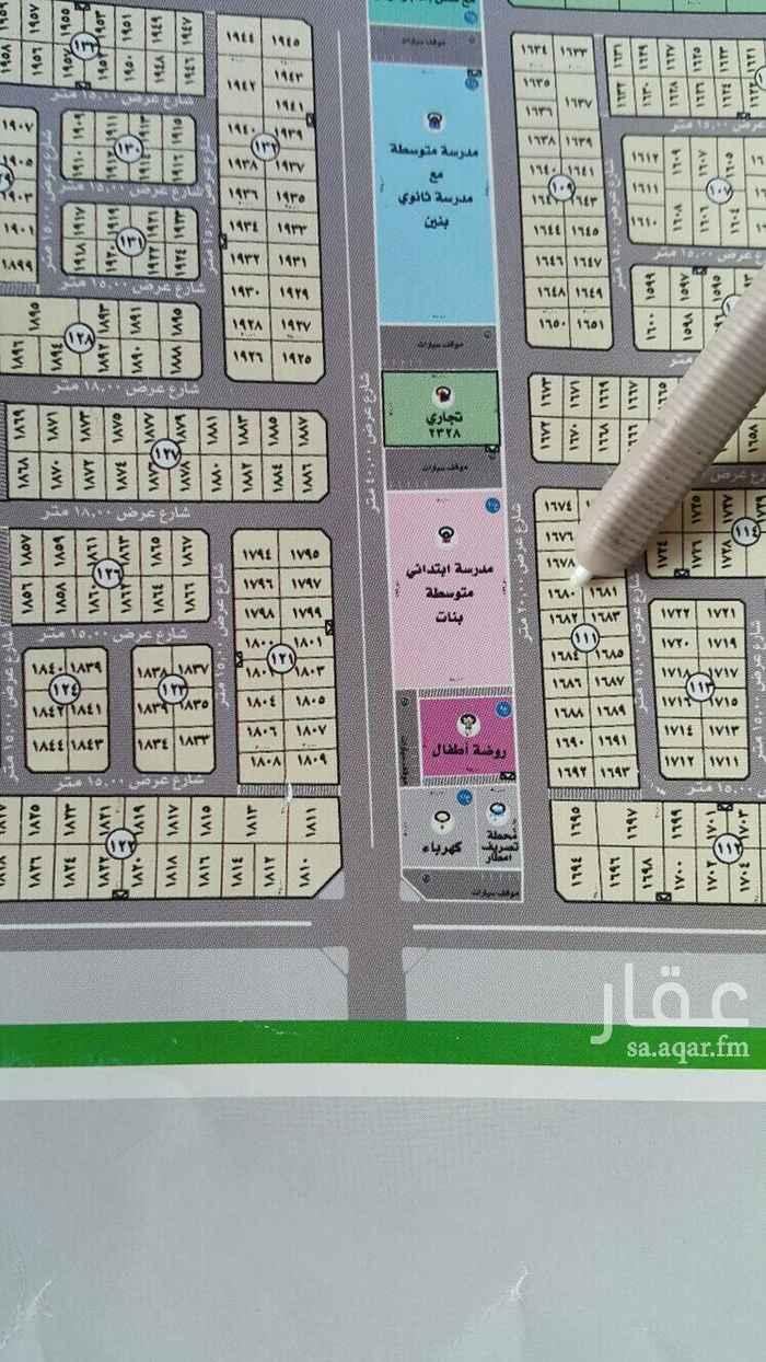 1400825 للبيع ارض في حي الفاخريه 2  موقع مميز وقريب من الخدمات  مساحة 600م مطلوب 720 الف .