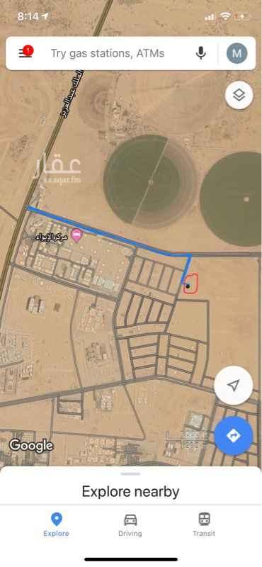 1692368 قطعة ارض في جيزان في ضاحية الملك عبد الله ( حي الروابي)