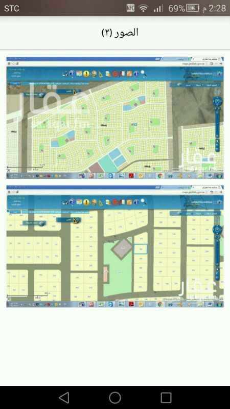 1069107 بسم الله الرحمن الرحيم  يوجد أرض للإيجار بمخطط طيبة الفرعية 602 المساحة 900 متر  عقد طويل المدى ، من المالك مباشرة .