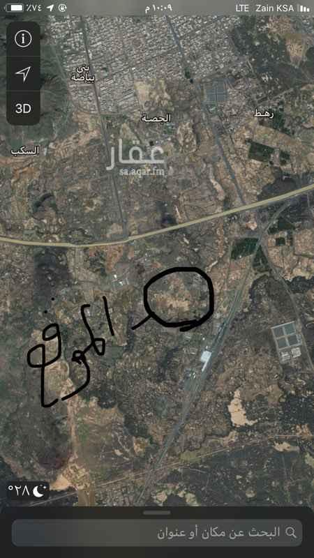 1503308 ارض زراعية بصك مشاع نسبة التملك من الصك ٢٦.٦ بمساحة ٥٠٠١٥ متر من المساحة الاجمالية ١٨٨٠٢٦ متر  ارض قريبة من الدائري الرابع