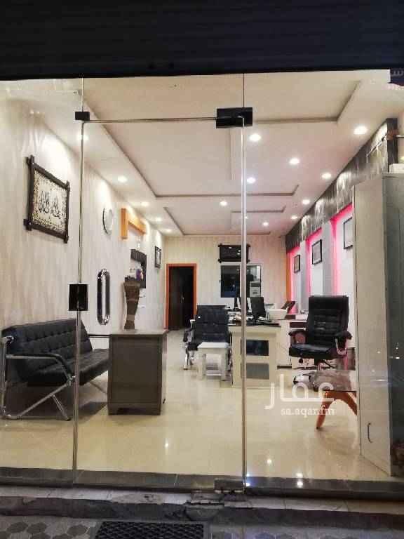 1488027 مكتب للايجار على شارع احمد بن الخطاب في حي طويق مساحة ٨٠ م٢