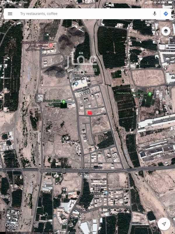 1401343 - العيون - امتداد شارع الأزهري - خلف مجمع النور التجاري  - يقع المخطط داخل حدود الحرم النبوي الشريف - اطلالة رائعة على جبل أحد - جميع الخدمات متوفرة في المنطقة (كهرباء، ماء، صرف صحي، انارة، أرصفة، سفلته، هاتف)  - قريب من اهم الاسواق التجارية بالمدينة  - يسمح بالبناء على الصامت على واجهتين  - مسموح الارتفاعات دورين + ٥٠٪