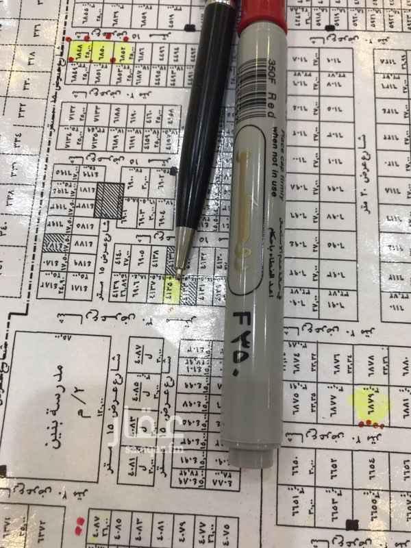 1734124 للبيع ارض تجاريه مساحتها 391.5 شارع 30 غربي شمال طريق القوات شرق طريق الملك عبدالعزيز بيع المتر 2000 مع المالك مباشره