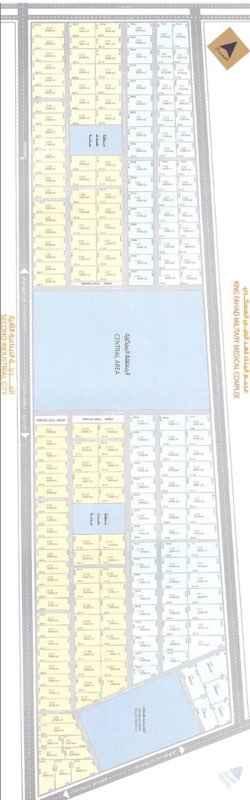 1388709 للاجار ارض صناعية في الدمام القرية الصناعية  على ثلاثة شوارع  قطعة رقم ١/١٢٦ مساحة ٢١٩٠٠م  مسورة مردومة  السعر ٣٥ريال للمتر