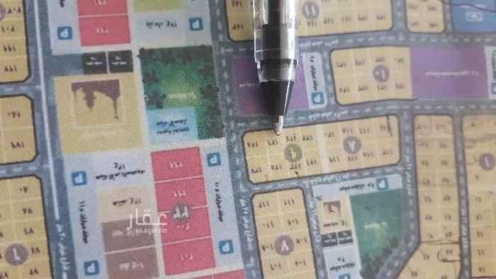 1727708 للبيع نص ارض بمخطط الرمال رقم ١٢٦   حرف ب  مساحه ٤٣٧متر  شارع ٢٥ جنوب  موقع ممتاز مخطط مكتمل الخدمات