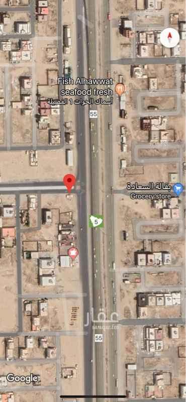 1742458 ارض زاوية تجارية في القرينية طريق جدة/جيزان السريع مساحة ١٠٦٥ متر مربع يوجد كروكي ورخصة بناء للجادين فقط من المالك مباشرة
