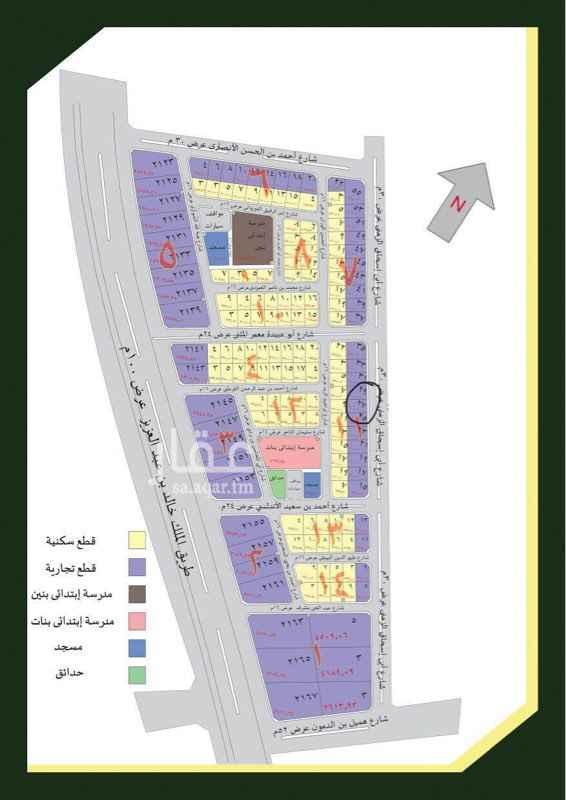 1705259 - للبيع أرض تجارية مخطط الجود - المساحة : 600م - الواجهة : شرقية - السعر : 600000 ريال  للتواصل : 0504906532 واتساب. : 0504906532 ( أبو عبدالعزيز )