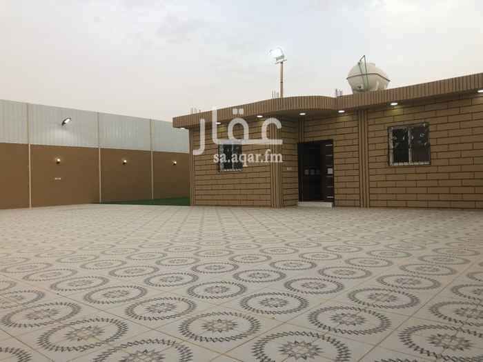 استراحة للايجار في حي الخير في الرياض