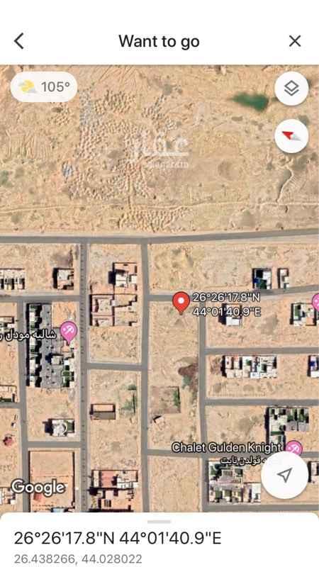 1421819 ارض راس بلك ، حي النخيل شرق بريده  تفتح شمال ، جنوب ، شرق على ثلاث شوارع