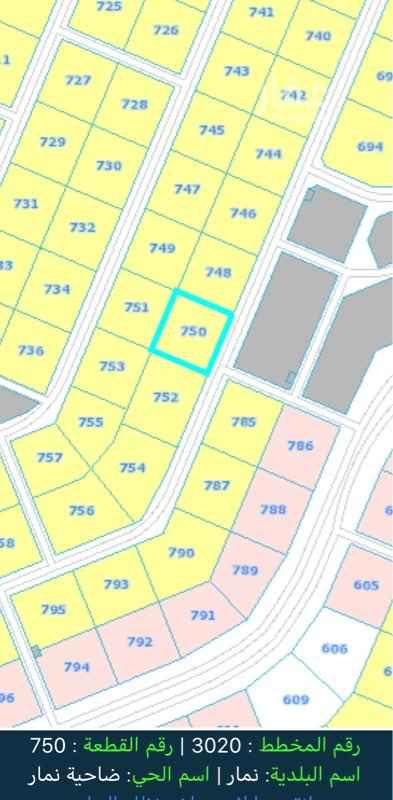 1471421 أرض بحي نمار للإيجار السنوي