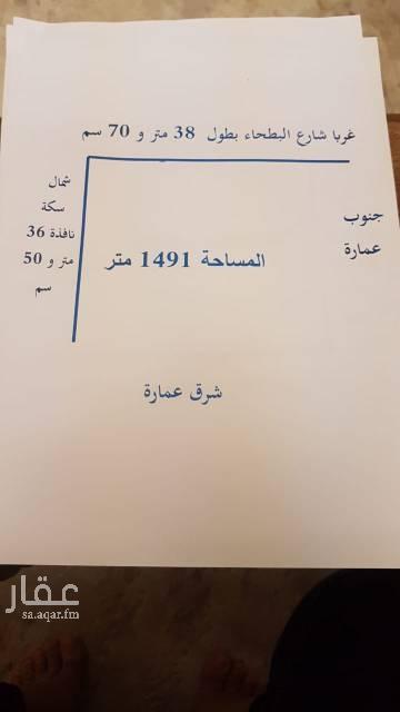 1462655 أرض تجاريه علي شارع البطحاء الموقع غير واضح بلخريطه لمفاهم الاتصال ٠٥٠٥٤٢٩٩٧٩قابل لتفاوض