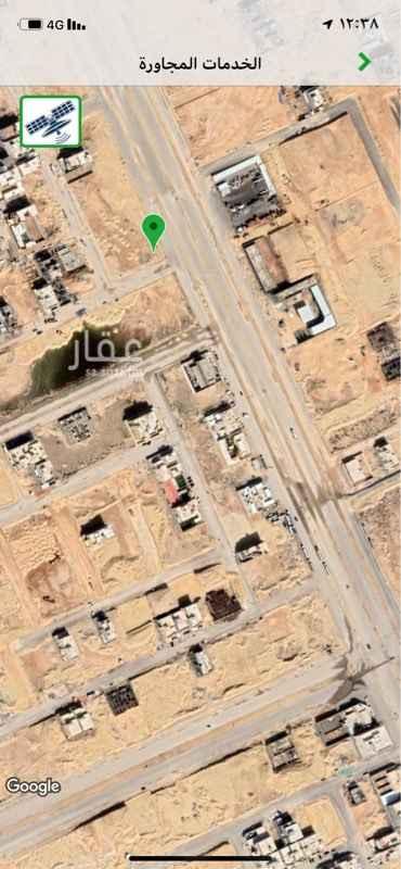 1286923 أرض تجارية على شارع عثمان بن عفان شرقا ،  (بطول 30 متر ) ،   و من الجنوب شارع 20 ( بطول 35 متر ) رقم القطعة ( 5297 )