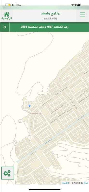 1704720 قطعه رقم 7567 من المخطط 2566 بحي المهدية  مساحة 537
