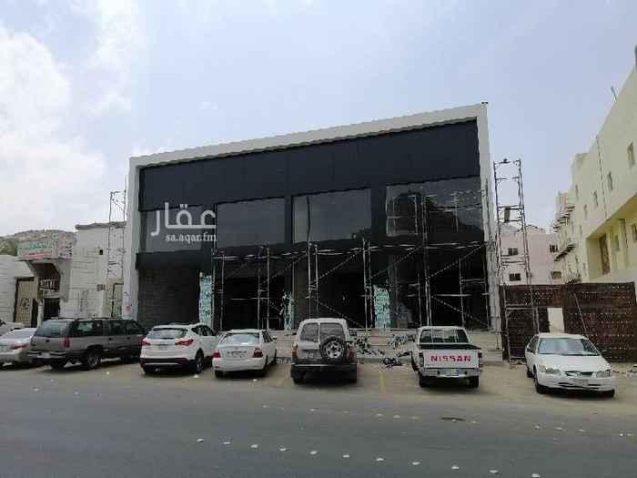 1474704 محلات للايجار في مكة العوالي شارع الجفالي مكون من ارضي + ميزان  المساحة 150 متر مطلوب 150 الف قابل للتفاوض