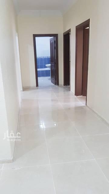 1812508 شقة ملحق تتكون من صالة وغرفتين وحمامين ومطبخ جاهز بإجار سنوي او شهري