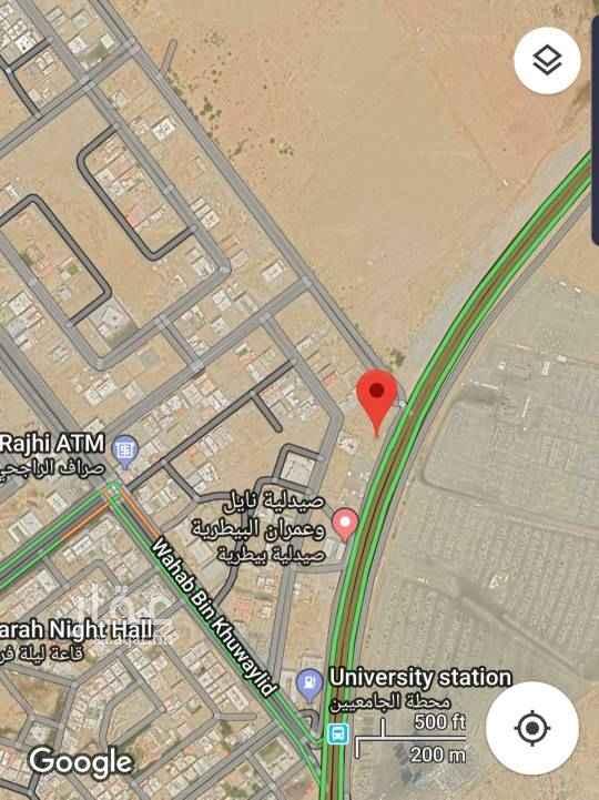 1638633 ارض تجارية بمخطط الجامعيين بجدة  (حي طيبة) تقع على طريق عسفان  مباشرة ، معروضة للايجار او الاستثمار . للجادين فقط، يمكن التواصل مع المالك مباشرة عن طريق الواتس اب،