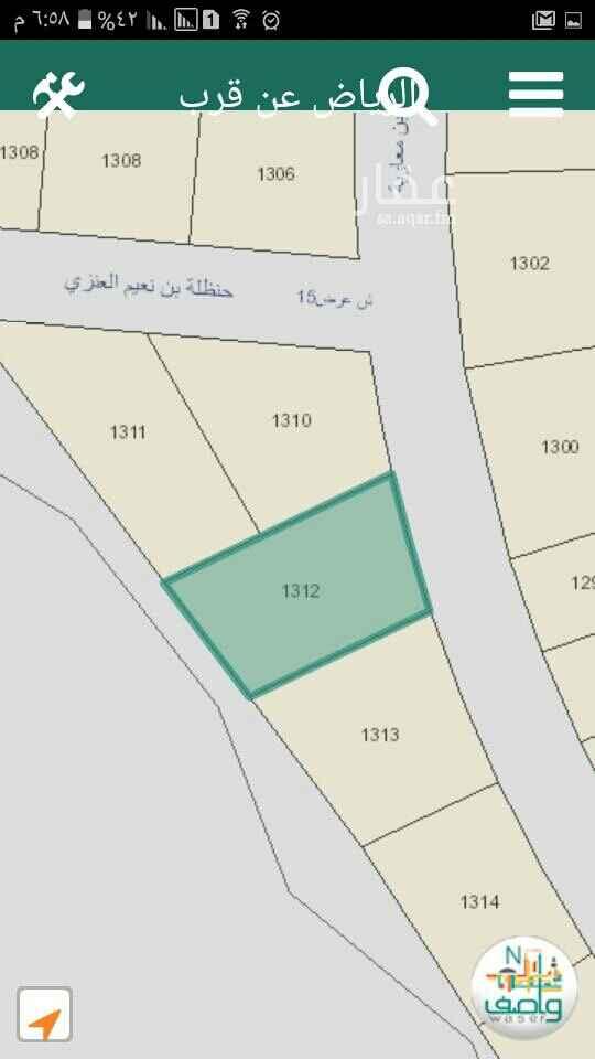 1796697 ارض سكنية مخطط ٢٩٩٦ نواف مساحة ٩٧٠متر شارع شمالي عرض ١٥٠ مجزأة صكين ٤٧٣متر و٤٩٧ متر  سوم ٨٠٠ألف
