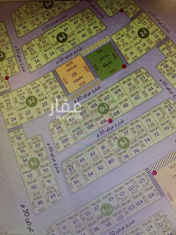 1634613 للبيع ارض سكنية استثمارية بحي النور بمخطط روفان حرف أ قطعة رقم ١٠٢ بلك رقم ١٠ أ مساحة ٨١٠ م٢ شارع ٢٠ مطلوب للمتر ١٣٠٠ ريال صافي . للمفاهمة : ٠٥٠٥٩٧١٣١٥