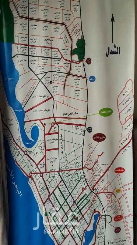 1521102 ارض تجارية سكنية للايجار طويل الاجل يمكن بناء عليها والاستثمار ملاصقة درة العروس مساحة 1750م تفتح شمال مخطط 2د حي جوهرة العروس