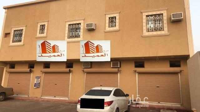 1541402 ثلاث محلات تجاريه على واجهه شرقيه على شارع تجاري ٣٠ بالخرج الهدا الرابع للآيجار ..