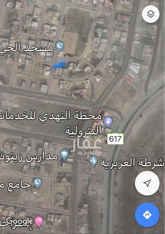 1568326 ارض في مخطط 129/2 الخبر العزيزيه  ( الصواري ) تبعد عن الشارع العزيزيه الرئيسي حوالي 500 متر
