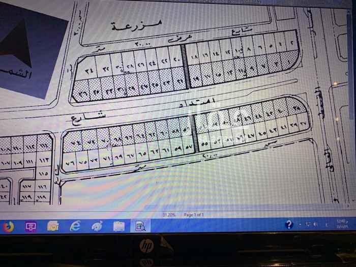 1755926 للبيع ارض بحي الدكاتره ظهيرة شارع الملك سعود موقع ممتاز شارع ٣٠ شمال ونافذ غرب سعر المتر ١١٠٠ ريال .