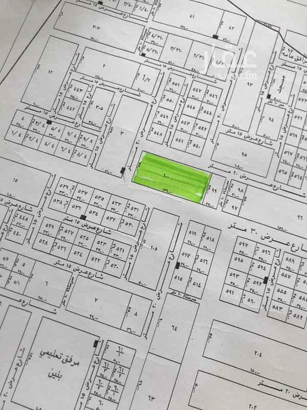 1702833 للبيع بلك تجاري وسكني في مخطط الامراء ٧٤٨٠ م شارع ٣٠ م تجاري و٢٠ شمالي و٢٠ غربي و١٠ شرقي السوم ١٦٠٠
