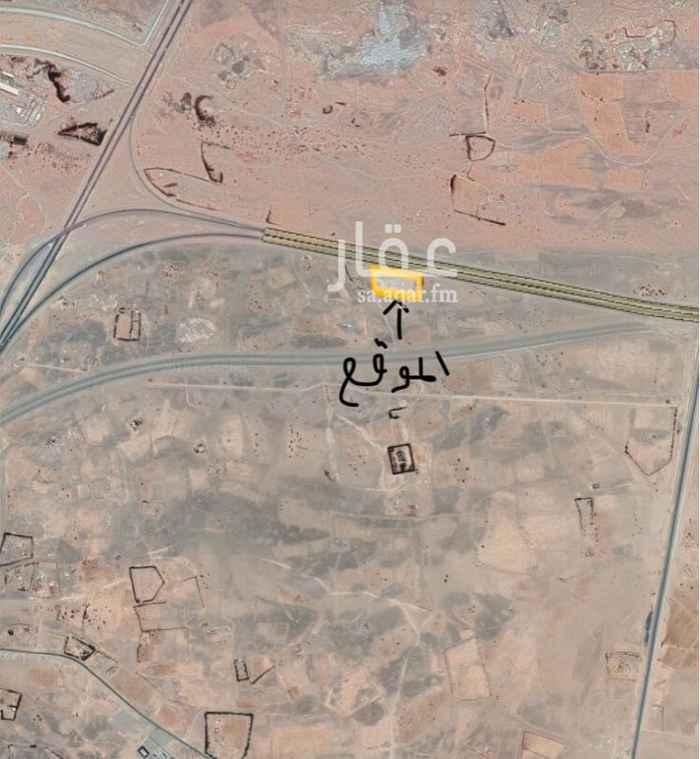 1506314 على خط اقليمي مباشرة   المساحة 6000 متر مربع  تتوفر بها الكهرباء .