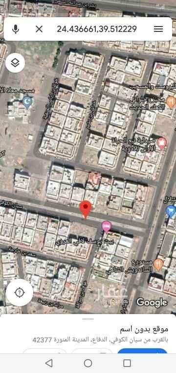1754039 ارض مساحتها ٦٠٠متر شارع ٣٠ شمالي مطلوب ٦٥٠ الف.  الريان العزيزية.