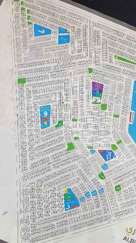 1686618 ارض للبيع تجاريه في ابحر الشماليه حي الزمرد علي شارع 52 صك اكتروني