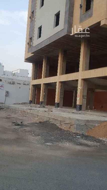 1748433 جدة حي الرغامه 5 محلات للايجار دورين ميزان جديدة