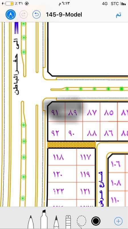 1286006 الإجار طويل المدا شارع ٣٠ و٦٠ طريق الإستثمار