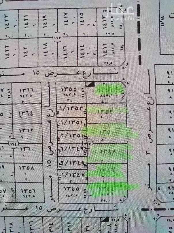 1652635 للبيع ٦ قطع مساحة  ٨٤٥-٨٠٠-٨٠٠-٨٠٠-٨٠٠-٨٤٥ تواصل واتس