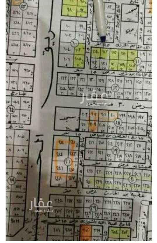 1613738 1/222 شرقي جنوبي حي المونسيه الاطوال ٢٢.٥×٢٥ السوم ٢٠٥٠للمتر شوارع ١٨