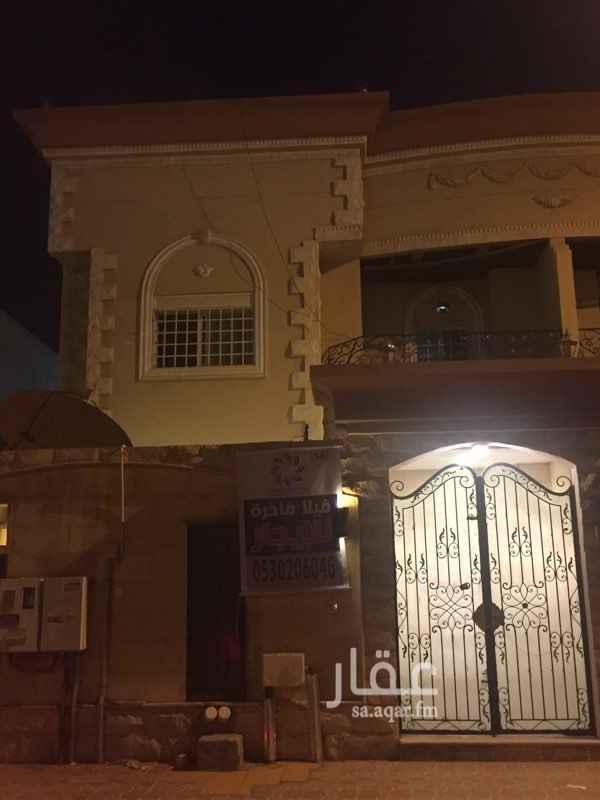 1218059 فيلا دوبلكس للايجار  مجدده بالكامل  خلف مسجد ابن كثير  السعر 75000