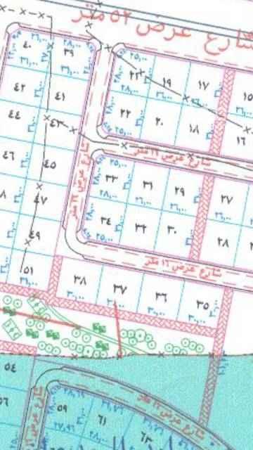 1401544 للبيع ارض سكنيه في مخطط جوهرة العروس الجزأ 1ها  رقم الأرض 45 شارع 16شرقي  موقعها ممتاز ونظيفة  ومدخلها من ٥٢الشمالي  مباشر مساحة 806متر  مطلوب 170الف