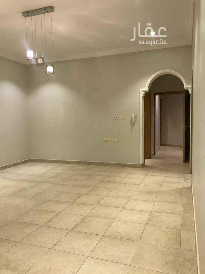 1492680 دور علوي للايجار  مدخل مشترك بحي الياسمين مجلس صاله و٣ غرف النوم  بدون مكيفات ومطبخ