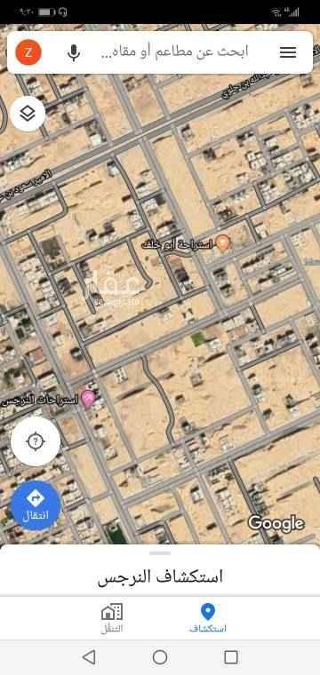 1711809 للبيع ارض زاوية تجارية بالنرجس الكيلو الخامس  المساحة ٩٠٠ م ( ٣٠ × ٣٠ )  شارع ٣٠ شرقي ٢٠ جنوبي  مباشر