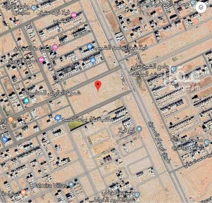 1765195 🕹للبيع بلك تجاري بحي العارض  المساحة ١٢٣٠٧ متر على امتداد طريق ابو بكر الصديق الاطوال حسب المخطط المرفق سعر البيع ١٧٠٠ ريال للمتر (شامل الضريبه)  الموقع غير دقيق  للتواصل ٠٥٣١١٣٢٤١١ ابو عبدالله