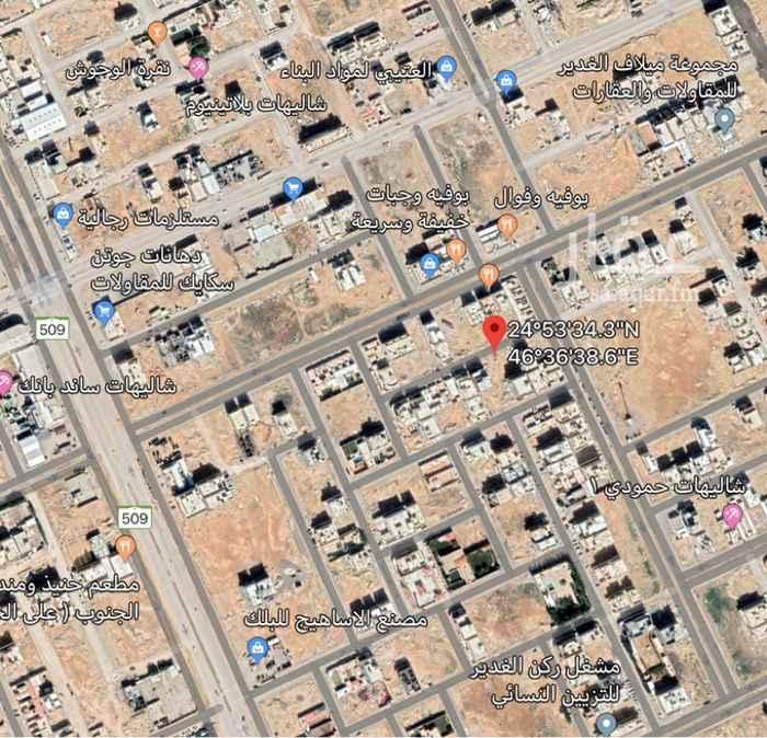 1765406 🕹للبيع ارض سكنيه في حي العارض المساحه ٤٣٧ متر الاطوال(١٧*٢٥) شارع ١٥ جنوبيه سعر البيع ١٧٠٠ للمتر   (شامل الضريبه)