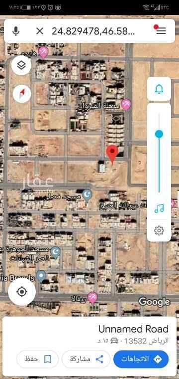 1323094 *  للبيع قطعه ارض في حي القيروان الجوهرة  *المربع الذهبي  * مساحه ٧٠٠م شارع ٢٠ شمالي   * الاطوال ٢٠*٣٥  * البيع ١٩٠٠