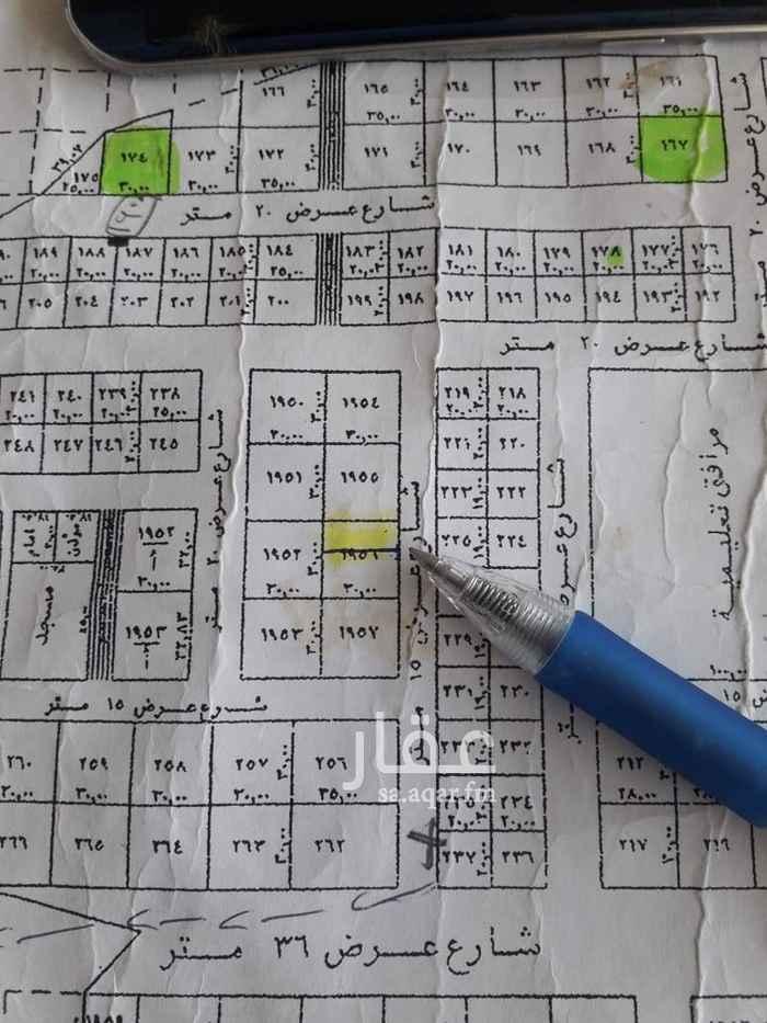 1509967 *** للبيع قطعه ارض  ***   حي القيروان غرب الخير   مساحه ٣٧٥م شارع ١٥ شرقي   الاطوال ١٢.٥*٣٠   البيع ٢٢٠٠