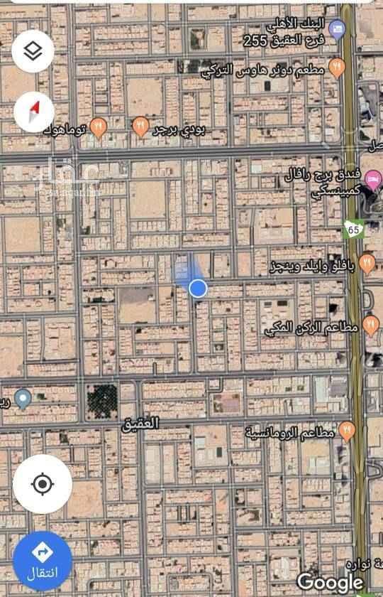 1644245 للبيع قطعه ارض سكني حي العقيق   مساحه ٦٢٥م شارع ١٥ غربي   الاطوال ٢٥ * ٢٥   البيع ٢٣٠٠ علي شور   ملحوظه الأرض مقام عليها فيلا قديمه