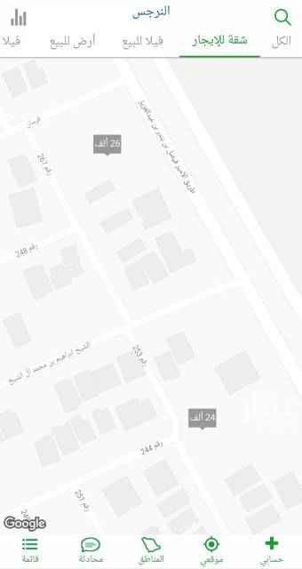 1763966 ارض للبيع بالمربع الذهبي حي النرجس : المساحه:١٠٥٠م الاطوال:٣٠×٣٥ الوجهه :شرقي شارع ٢٠م جنوبي شارع ٢٠م  طبيعه الارض ممتازه السعر ٢٨٠٠ريال للمتر