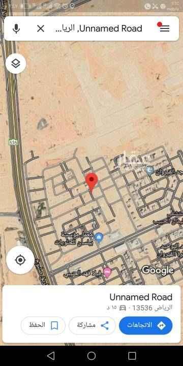 1312088 للبيع قطعه ارض سكنيه بمربع ١٠ المساحه ٦٧٥م شارع ١٥ شمالى الاطوال ٢٥×٢٧  السوم ٢٢٠٠ ريال