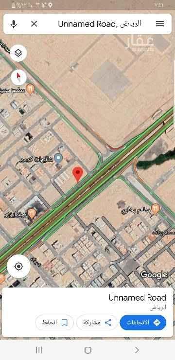 1491846 Unnamed Road Unnamed Road, الرياض https://maps.app.goo.gl/CYJKk للبيع قطع ارض تجاري علي   المالك سلمان  مساحه ١٠٥٠متر    زاويه ٨٠جنوبي ممر ٥غربي   وي قطعه جارها ١٠٥٠متر   السوم ٥٣٠٠  البيع ٥٥٠٠  مباشر