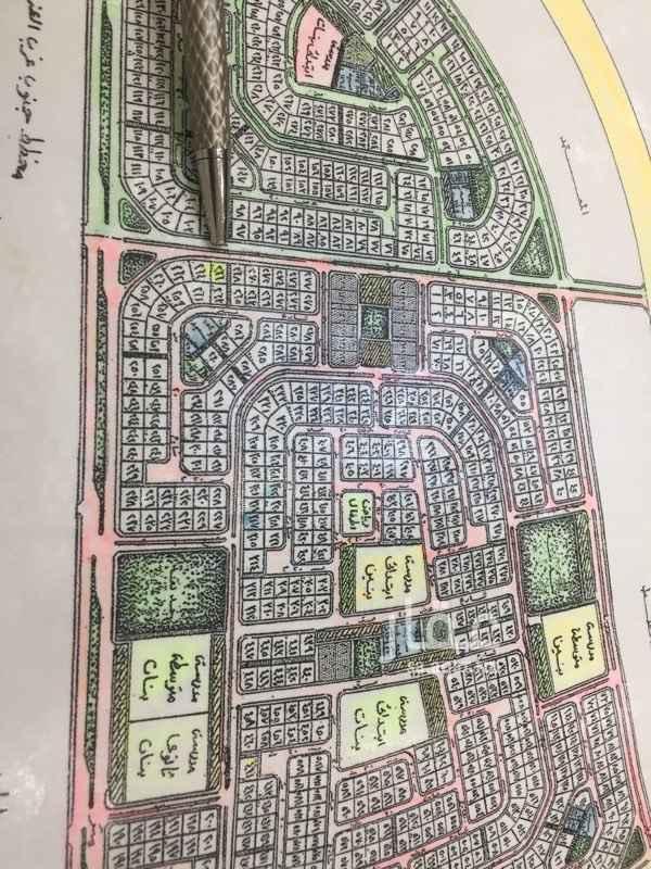 1552613 للبيع ارض في حي المرجان ٢٠٩  المساحة : ٨٧٥  شارع: ٤٠ جنوب ٨ شمال  رقم الارض والحرف ؛ رقم ٢٦٦/ حرف هه   السعر : ٣٥٠ الف