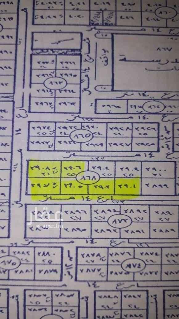 1702181 للبيع ٧ قطع في الياسمين مربع ٩  رقم البلك ٨٦٨    راس بلك غربي  عدد القطع ٧ قطع ٣ قطع شمالى غربي   الزوايا السوم ٢٥٠٠  و ٤ قطع جنوبى غربي  ((((((((((((((((((((صلواعلى الحبيب)))))))))))))))))                (((((((((((((((ربي إرحمهماكماربياني صغيرا)))))))))))